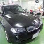 BMW X3 フルミガキ
