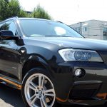 BMW・X3(サファイヤブラック) HP+PCX-S8(撥水・艶・対すり傷・防汚性)