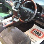 2015/12 トヨタ・クラウンマジェスタ 内装クリーニング「PROコース」