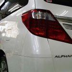 トヨタ・アルファード(ホワイトパールクリスタルシャイン) MP+PRO PCX-V110 札幌「お車のガラスコーティング」