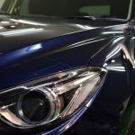 マツダ・アクセラ(ディープクリスタルブルーマイカ) PRO PCX-S7 札幌「お車のガラスコーティング」