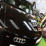 Audi・S8 plus セラミックプロ9H 5レイヤー(5層) 恵庭市より