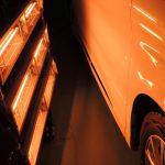 トヨタ・ヴェルファイヤ 部分再施工 札幌「お車のガラスコーティング」