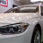 2018/5 BMW・320(アルピンホワイト)PRO PCX-S7(ガラスコーティング、低撥水・艶・対すり傷性・防汚性) 札幌市清田区よりご利用ありがとうございました。