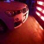 2019/01 BMW・X3(アルピンホワイト)  コーティング部分再施工 札幌市豊平区よりご利用ありがとうございました。