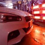 2019/1 BMW・218d xDrive アクティブ ツアラー(アルピンホワイト) コーティング部分再施工 札幌市豊平区よりご利用ありがとうございました。