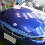 2019/2 BMW・335i(エストリルブルー)ボンネットコーティング部分施工 札幌市豊平区よりご利用ありがとうございました。