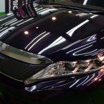 2019/2 トヨタ・ハリアー(スパークリングブラックパールクリスタルシャイン)セラミックプロ9H 4レイヤー(4層)昨年(2018y)11月末に納車となりましたトヨタ・ハリアーですが、1ヶ月点検の際助手席ドアに傷がある事が判り、また新車時にコーティング施工してあるもの1ヶ月点検と自身の洗車の2回で洗車傷が大量に入り込んだため、板金塗装+全体の研磨を行い洗車傷の除去、仕上げのコーティングはセラミックプロ9Hを4レイヤー(4層)を承りました。札幌市厚別区よりご利用ありがとうございました。