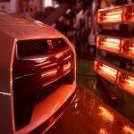 【施工環境】最新式カーボンヒーターによる焼付処理