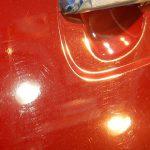 2019/8 ホンダ・N-BOXカスタム 新車時にディーラーさんでコーティングされ、毎年メンテナンスを受けられておられていたとの事でしたが、いったんリセットでのご入庫でした。塗装面の洗車傷や汚れを研磨により除去しスッキリした所へガラスコーティングを施工します。PRO PCX-S7低撥水タイプガラスコーティング 江別市よりご利用ありがとうございました。
