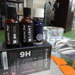 2019/8 トヨタ・シエンタ用アルミホイールへセラミックプロ9H 基本セット コーティング