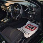 2019/9 ホンダ・シビックハッチバック 車内クリーニング「ライトコース」先にエンジンルームクリーニングをご紹介させて頂きましたシビックハッチバック。内装のクリーニングのご依頼です。