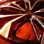 2019/11 トヨタ・アルファード モデリスタアルミホイールへ プレミアム「SPG Coat Type Wheel 完全2層式ガラスコーティング」を施工 札幌市清田区よりご利用ありがとうございました。