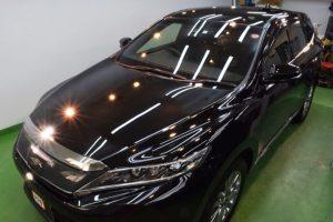 2020/1 トヨタ・ハリアー(202ブラック)【アドバンスドガラスコーティング】2層式低撥水タイプ 札幌市豊平区よりご利用ありがとうございました。
