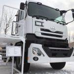 2020ふゆトピア・フェアinとまこまい UDトラックス「クオン」総輪駆動車