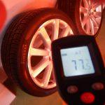 アルミホイールコーティングの施工温度について 16度以下の状況でのコーティング施工はNGです。