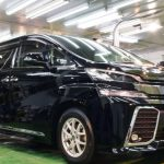 2020/3 トヨタ・ヴェルファイア(202ブラック)新車時にディーラーコーティング、その後コーティング専門店で再施工、しかし‥ 札幌市中央区より【スタンダードガラスコーティング】PRO PCX-V110(撥水性低撥水・濡れたような艶・耐薬品性)のご利用頂きまして誠にありがとうございました。